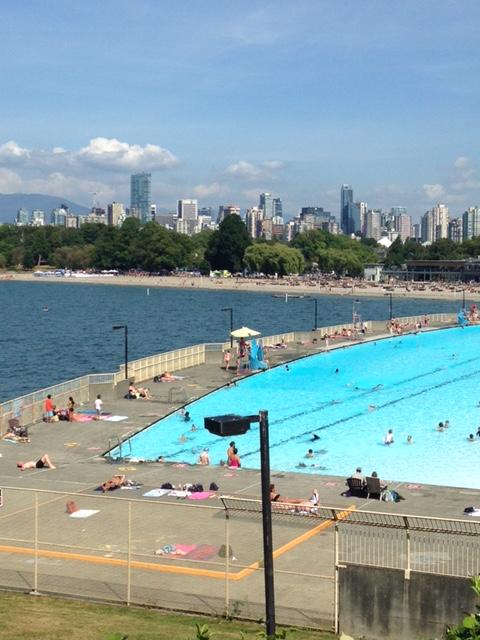 Stanley park - piscina